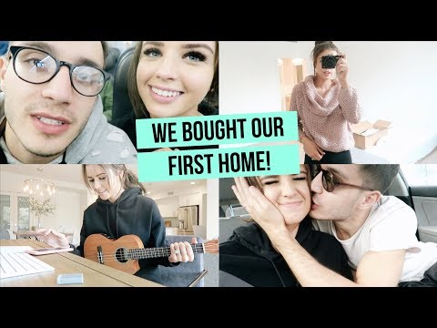 WE BOUGHT OUR FIRST HOME!! SHOWING YOU AROUND + LULUS CLOTHING HAUL