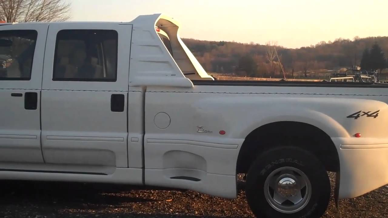 Ford Powerstroke For Sale >> 2004 Ford F-350 XLT Lariat 4 X 4 Crew Cab Dually 49K Original Miles - YouTube