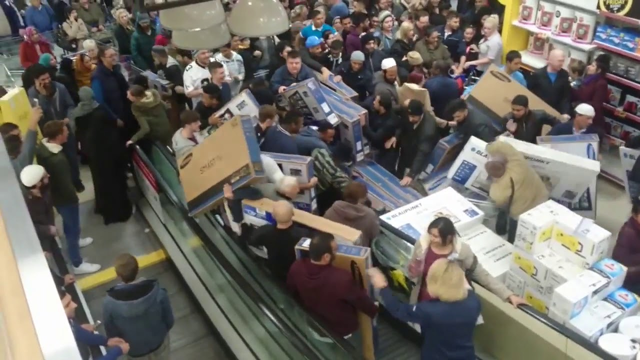 Black Friday Frankfurt 2017 Black Friday 2017 Chaos