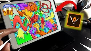 The BEST *FREE* Ipad Drawing App!! | Digital Art by Shrimpy!