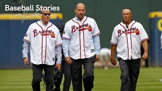 John Smoltz Reflects on Competing with Tom Glavine and Greg Maddux | Baseball Stories