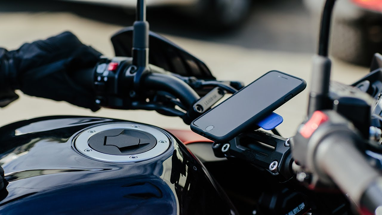 Quad Lock Motorcycle And Scooter Mounts For Samsung Galaxy