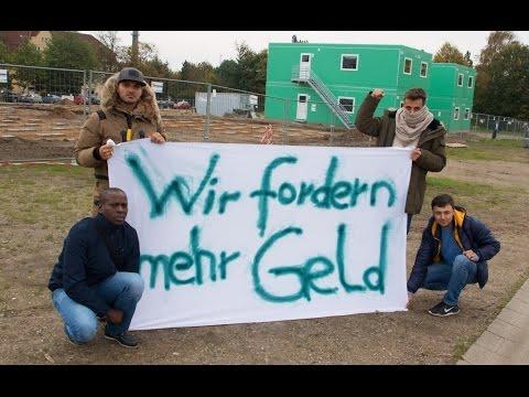 Flüchtlinge Fordern Mehr Geld