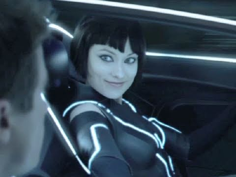 """Tron: Legacy Movie Clip """"Quorra Saves Sam"""" Official (HD)"""