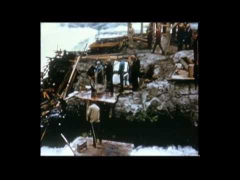 Celilo Falls, Oregon - 1956