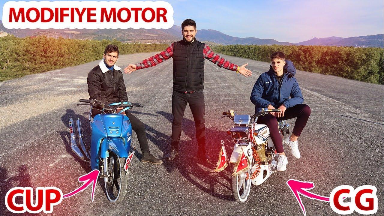 MODİFİYE MOTOR -  BİSİKLET İNCELEMESİ - CG  CUP - KÜBA ÇİTA 150-R GOLD