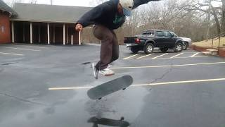 How to skate in water!
