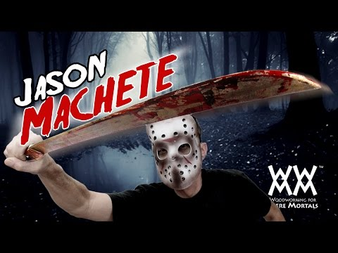 Jason's Friday the 13th MACHETE! DIY Movie Prop