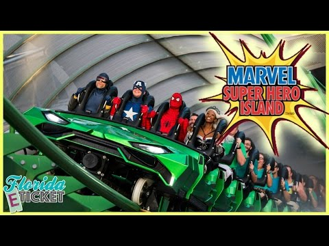 Florida E-Ticket - 'Marvel Super Hero Island at Islands of Adventure' - Aug. 13, 2016