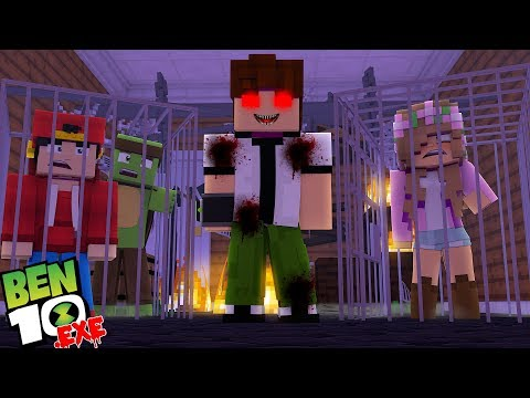 Minecraft - BEN 10 .EXE IS CAPTURING THE LITTLE CLUB ONE BY ONE