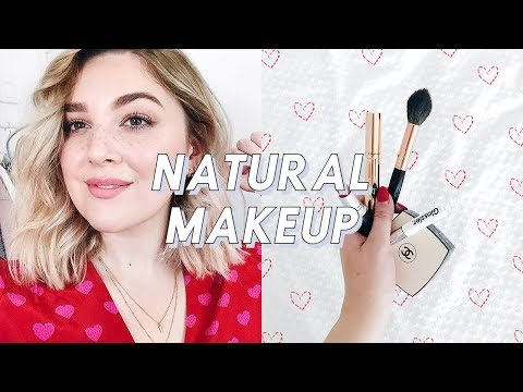 NATURAL MAKEUP WITH FRECKLES! | MINIMAL MAKEUP TUTORIAL | I Covet Thee