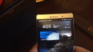 """Huawei P8 max Titanium Gray DAV-703L 6.8"""" Unboxing and Quick overview"""