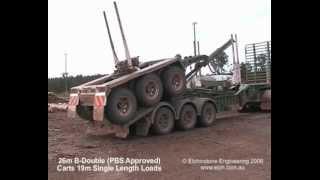 Elphinstone Easyloader Long Logger Log Trailer
