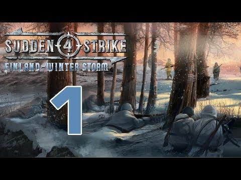 Прохождение Sudden Strike 4 - Finland: Winter Storm #1 - Битва при Суомуссалми: Раатская дорога