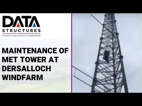 Maintenance of Met Tower at Dersalloch Windfarm by DSI