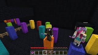 Tập parkour cùng với Yeti trong minecraft realms