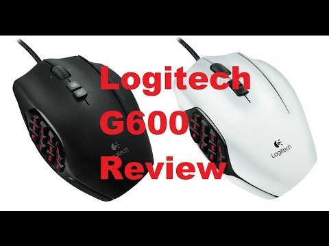 Coffee Time Review: Logitech G600 Gaming mouse Review