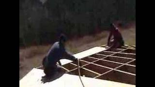 Laying Plywood On Roof
