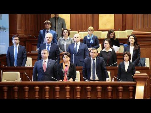 Governo da Moldávia perde voto de confiança