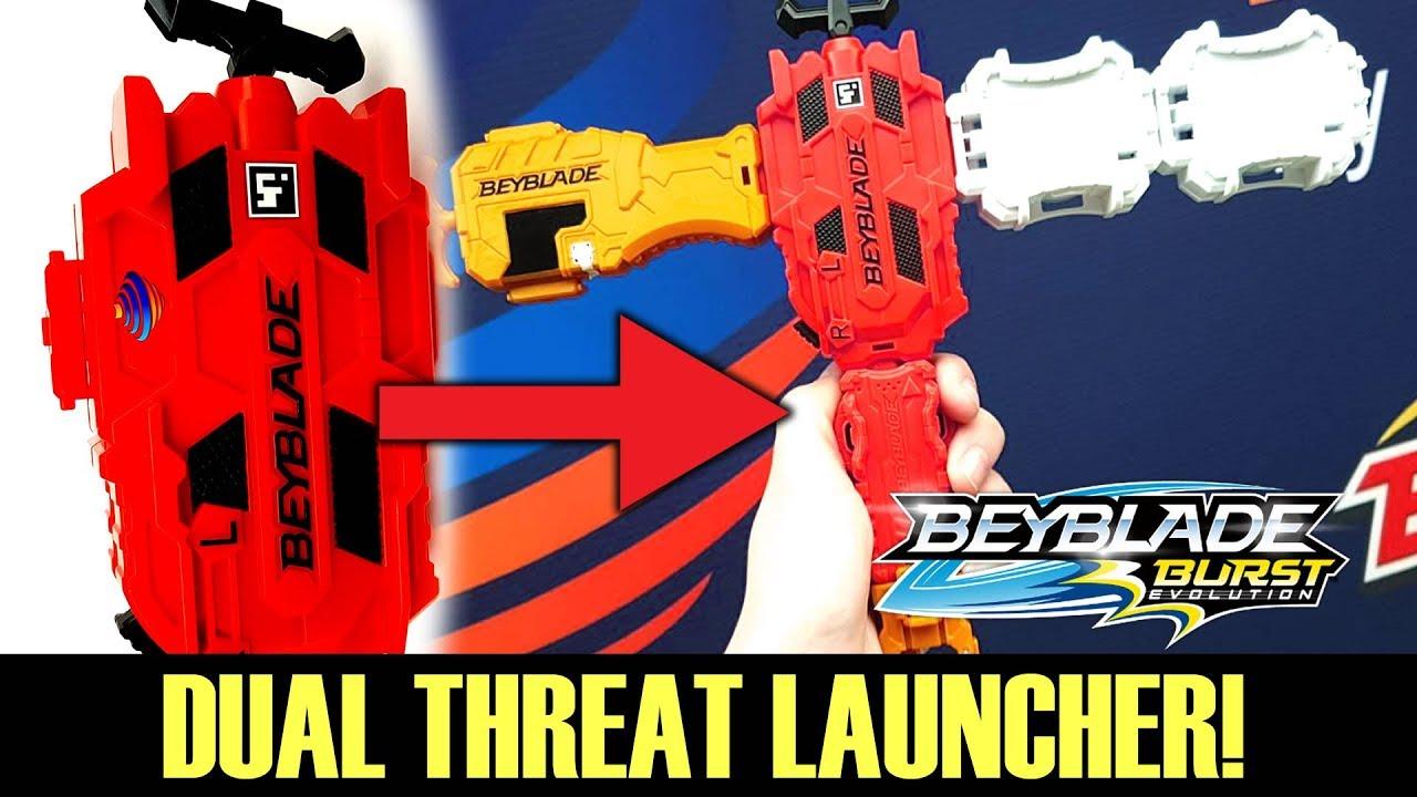 Hasbro Dual Threat Launcher Is Here Beyblade Burst