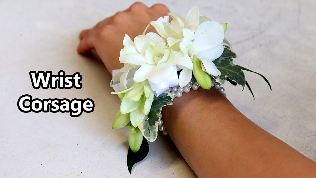 Download How To Make A Wrist Corsage