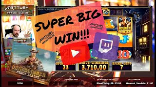 Super Big Win From GunSlinger Fully Loaded!!