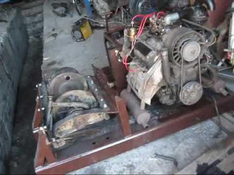 Трелевочный трактор тт-4. Лебедка это сила! - YouTube