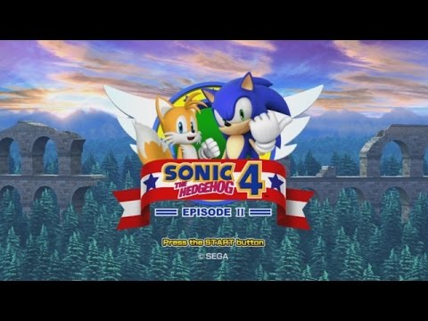 Let's Play Sonic the Hedgehog 4: Episode 2! (Part 1)