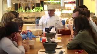 Italian Lesson #1 with Barilla Restaurants Academia and IACE