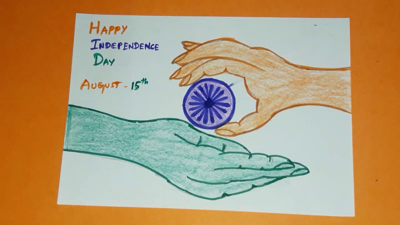 Independence Day Drawing Ideas How To Draw Easy Independence Day