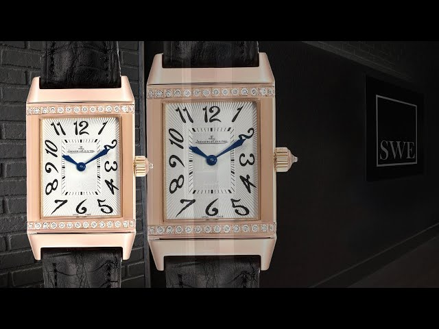 Jaeger LeCoultre Reverso Duetto Classique Rose Gold Diamond Watch 256.2.75 | SwissWatchExpo