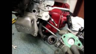 КАК ПРОЧИСТИТЬ КАКБЮРАТОР двигателя HONDA GX160\how to clean a carburetor HONDA GX160 engine