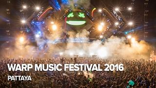 WARP music festival 2016 - Pattaya, Thailand