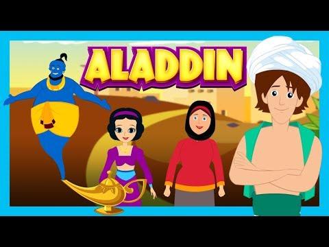ALADDIN AND THE MAGIC LAMP - Story For Kids || ARABIAN NIGHTS