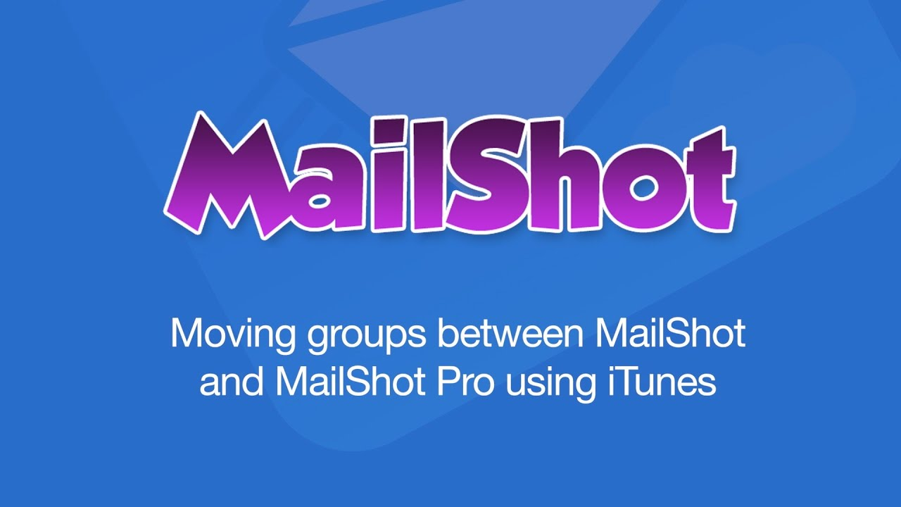 MailShot Support – Soluble Apps