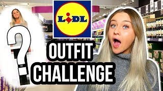 KOMPLETTES OUTFIT von LIDL?! OUTFIT CHALLENGE! KRASS!! 😳😳