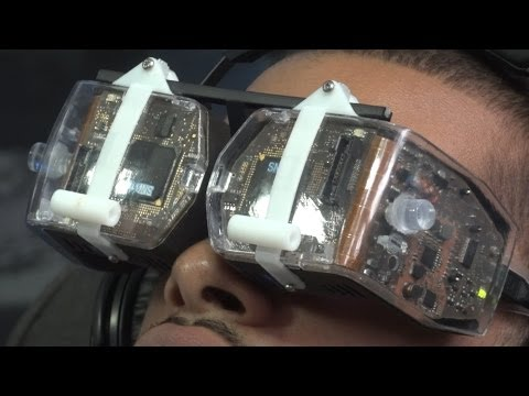 Avegant Virtual Retinal Display Prototype REVIEW