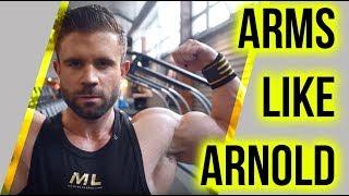 Download arnold schwarzenegger workout videos dcyoutube arm shredder workout arms like arnold schwarzenegger malvernweather Image collections