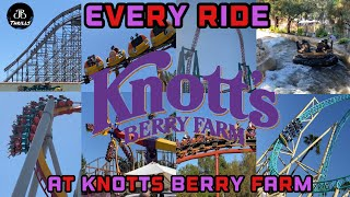 Every Ride At Knotts Berry Farm (2021)