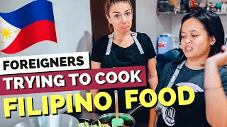 FOREIGNERS trying to cook AUTHENTIC Filipino Food (feat. Everyday TV)