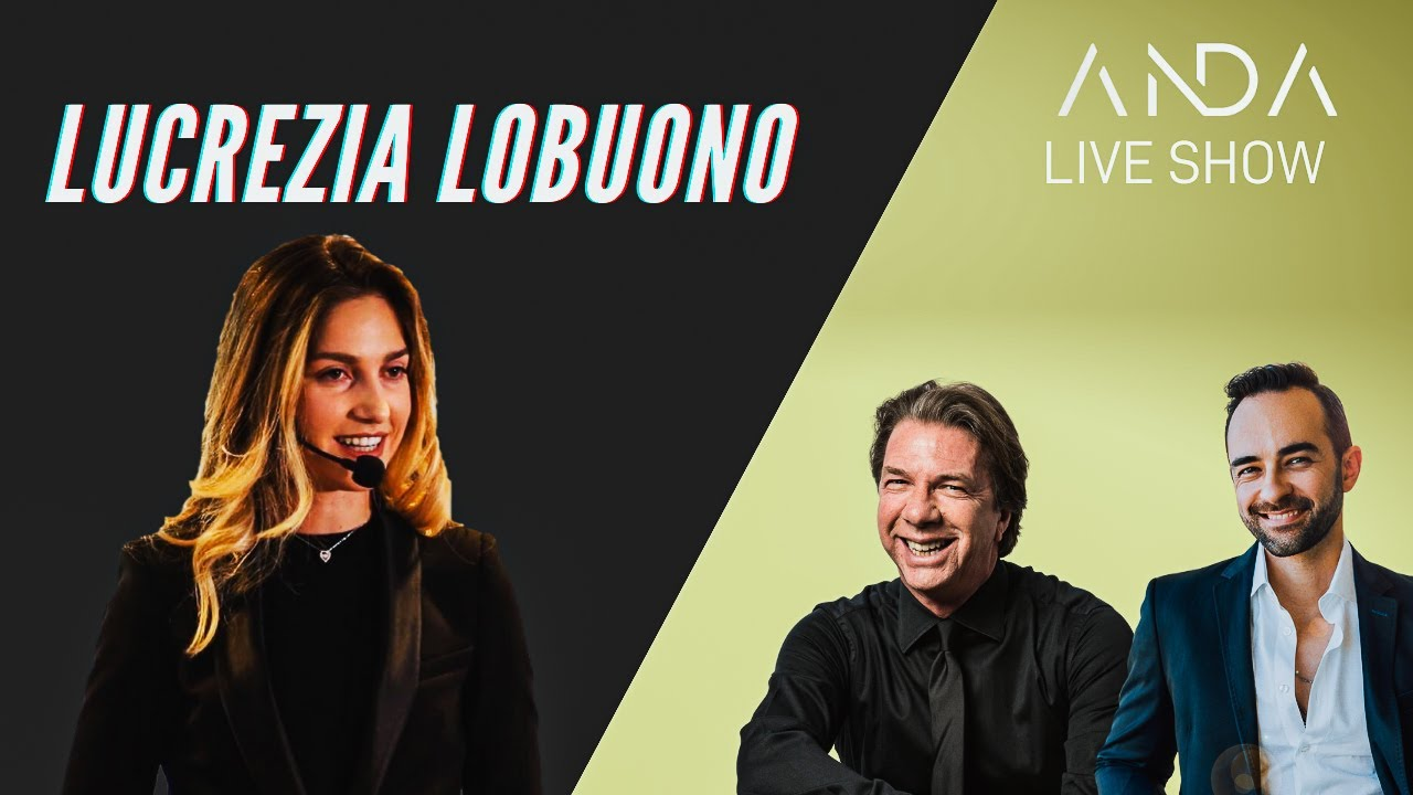 ANDA Live Show con ospite: Lucrezia Lobuono