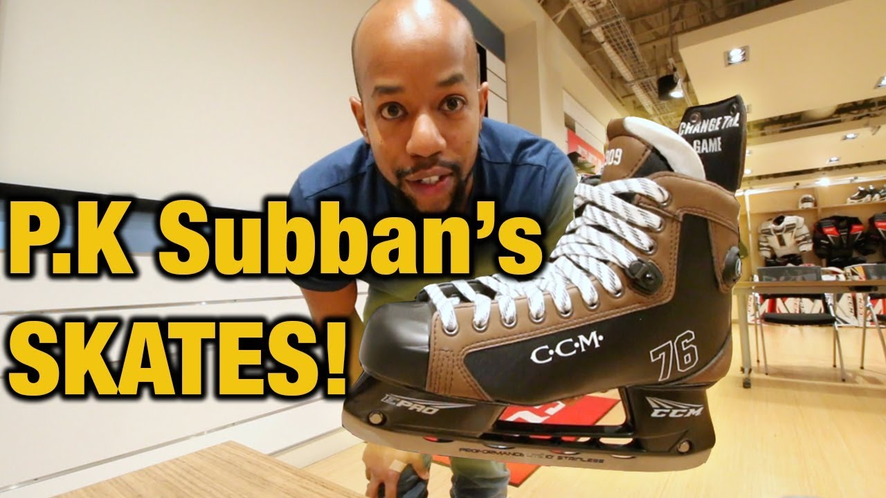 the best attitude dadc6 dadb3 P.K Subban's Custom NHL Winter Classic hockey skates