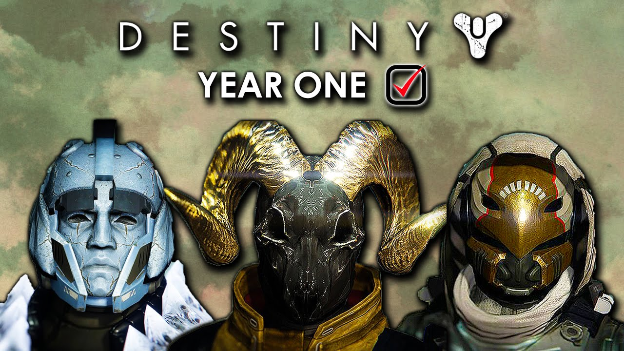 Destiny end of year one all exotic raid weapons amp armor
