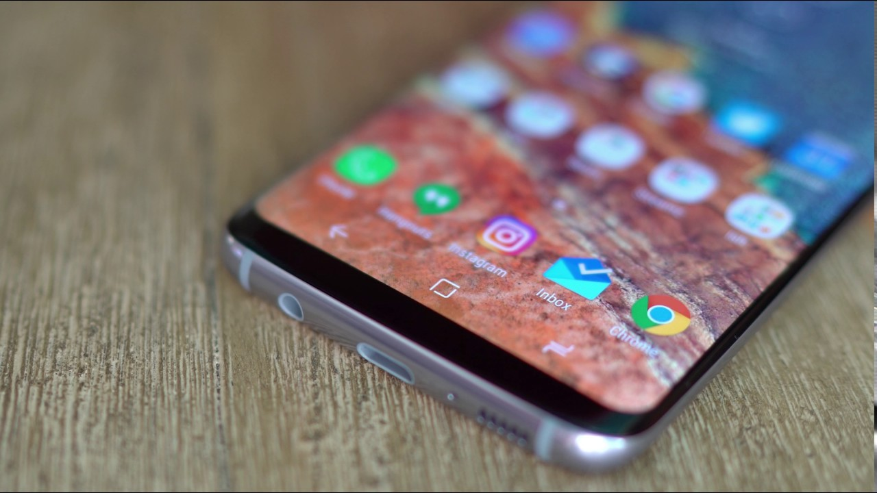 Galaxy S8 Guide: The Pressure Sensitive Home Button is