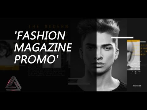 Fashion Magazine Promo After Effects Template Product Promo Youtube