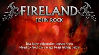 Fireland - John Rock (Lyrics) [Heavy Metal from Northern Ireland]