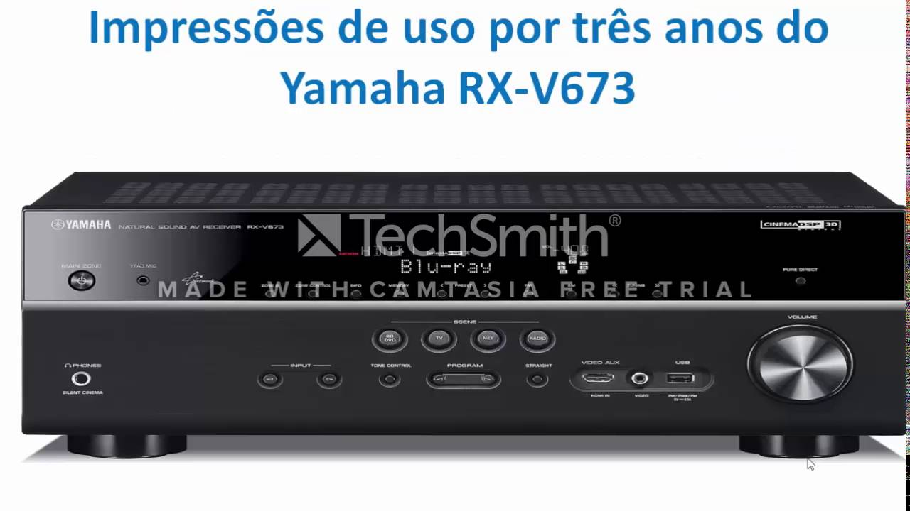 comparativo receivers yamaha rx v673 vs yamaha rx v681. Black Bedroom Furniture Sets. Home Design Ideas