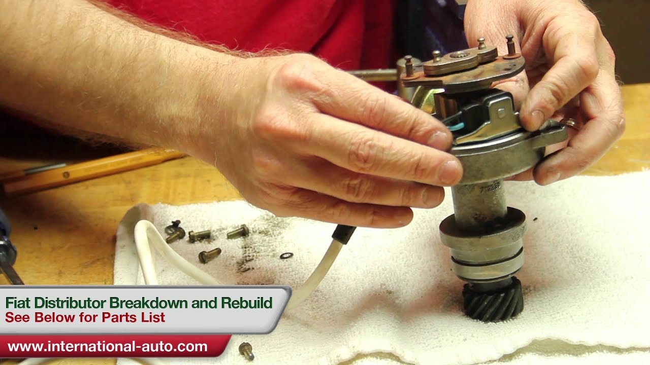 Fiat Distributor Rebuild International Auto Parts Youtube For Electronic Ignition Wiring Diagram Ih
