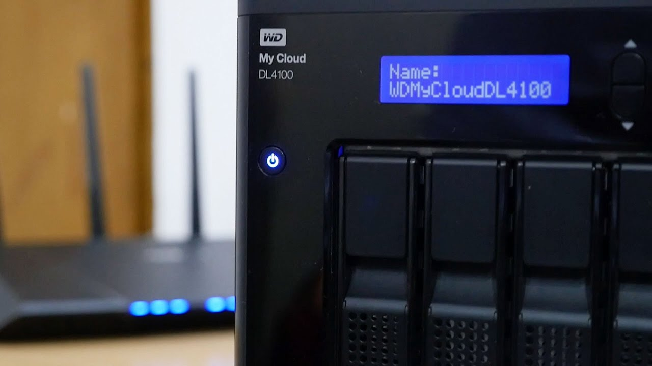 WD My Cloud DL4100 NAS Drivers PC