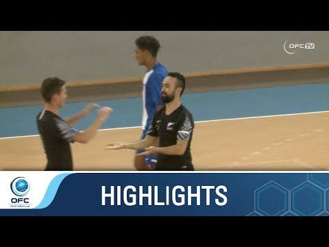 OFCFNC: American Samoa v New Zealand Highlights